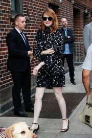 Emma Stone Arrives at Late Show With Stephen Colbert in New York 2018/09/19 4