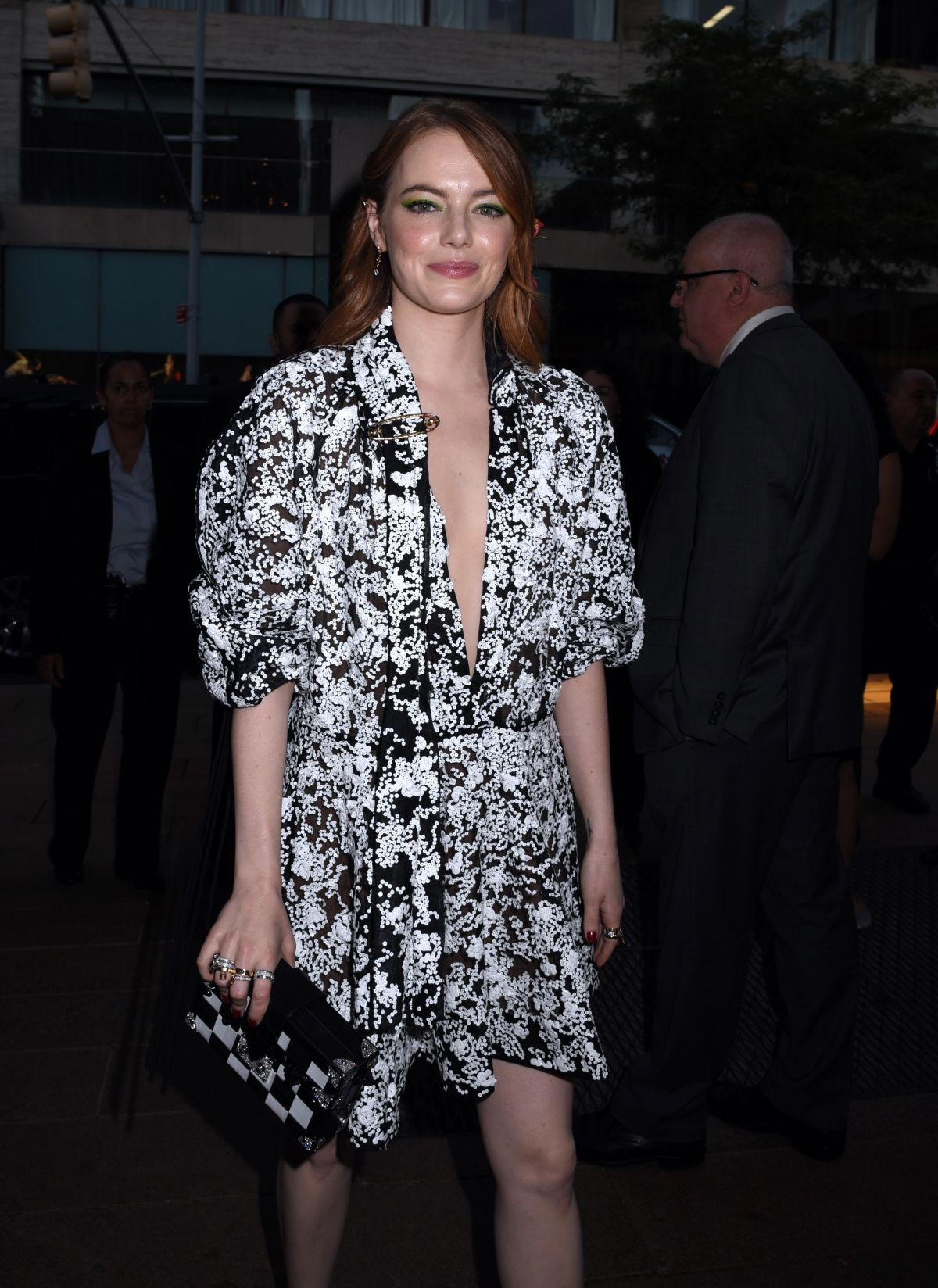 Emma Stone Arrives at Lincoln Center in New York 2018/09/28 1