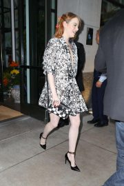 Emma Stone Arrives at Lincoln Center in New York 2018/09/28 3