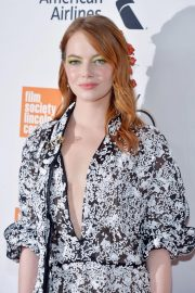 Emma Stone at The Favourite Premiere at New York Film Festival 2018/09/28 7