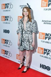 Emma Stone at The Favourite Premiere at New York Film Festival 2018/09/28 9