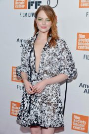 Emma Stone at The Favourite Premiere at New York Film Festival 2018/09/28 10