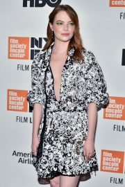 Emma Stone at The Favourite Premiere at New York Film Festival 2018/09/28 13