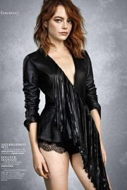 Emma Stone in Madame Figaro, September 2018 Issue 4