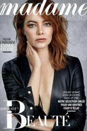 Emma Stone in Madame Figaro, September 2018 Issue 7