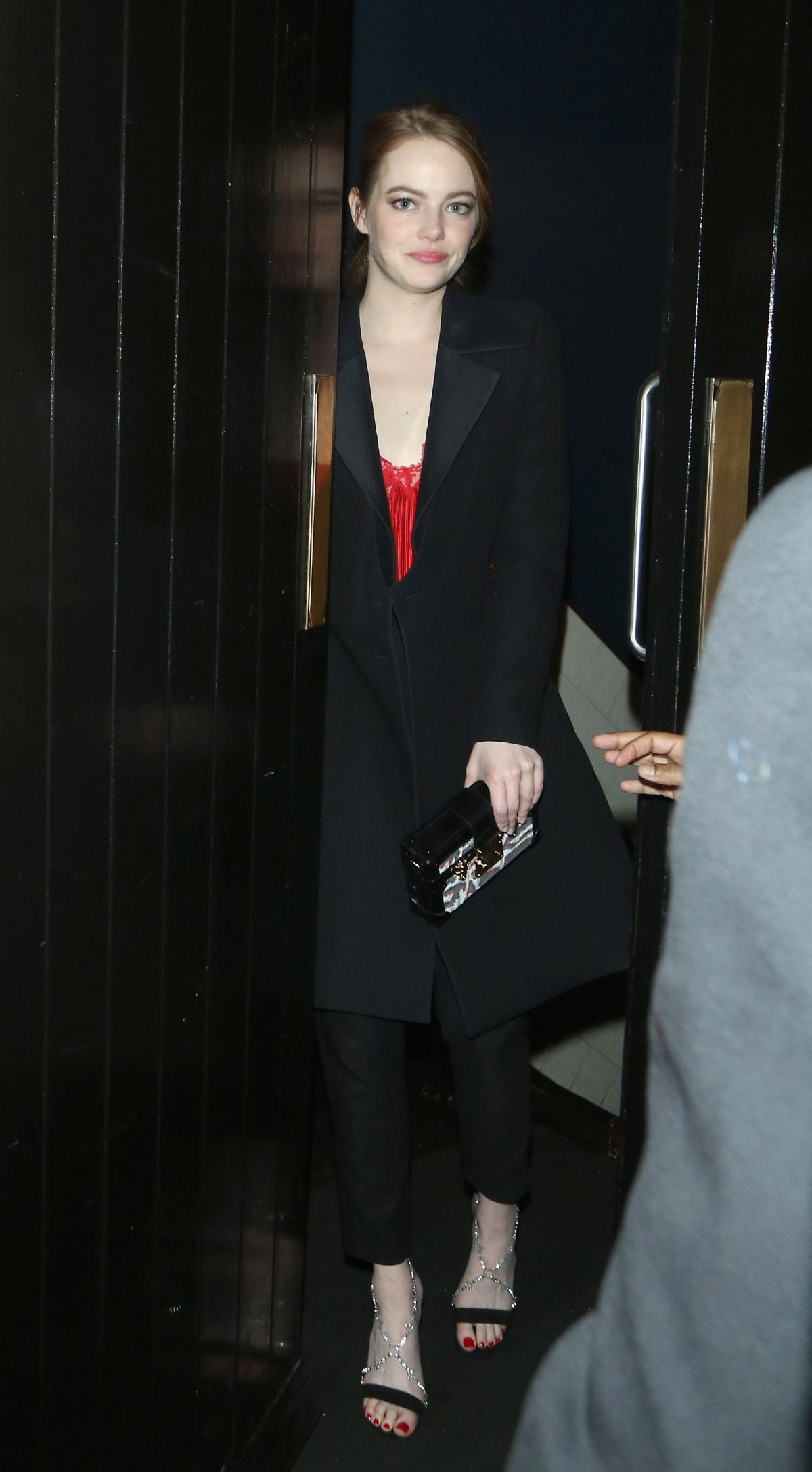 Emma Stone Leaves Chiltern Firehouse in London 2018/09/13 1