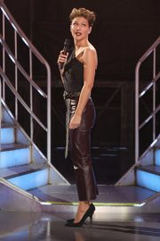 Emma Willis at Celebrity Big Brother Eviction Show in Borehamwood 2018/08/24 2