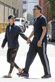 Emmy Rossum and Sam Esmail Out for Breakfast in Beverly Hills 2018/09/29 3