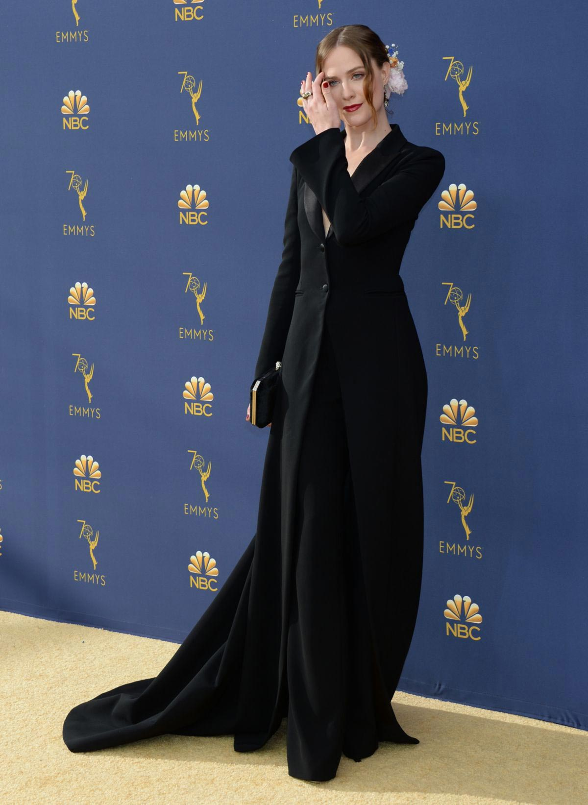 Evan Rachel Wood at Emmy Awards 2018 in Los Angeles 2018/09/17 1