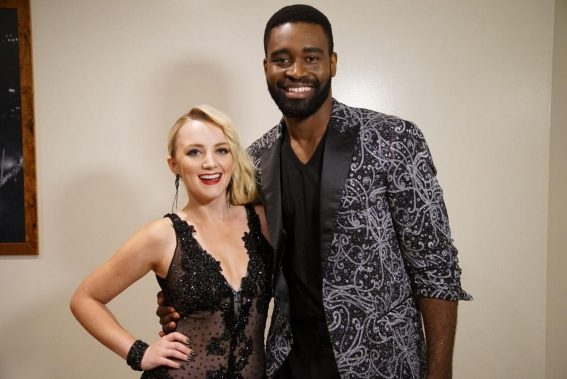 Evanna Lynch at Dancing With the Stars, Season 27 Promos 2018/09/16 1