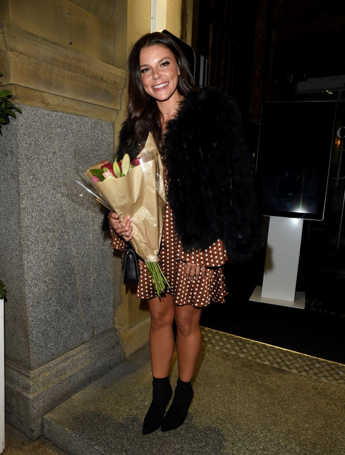 Faye Brookes Celebrates Her 29th Birthday in Manchester 2018/09/04 1