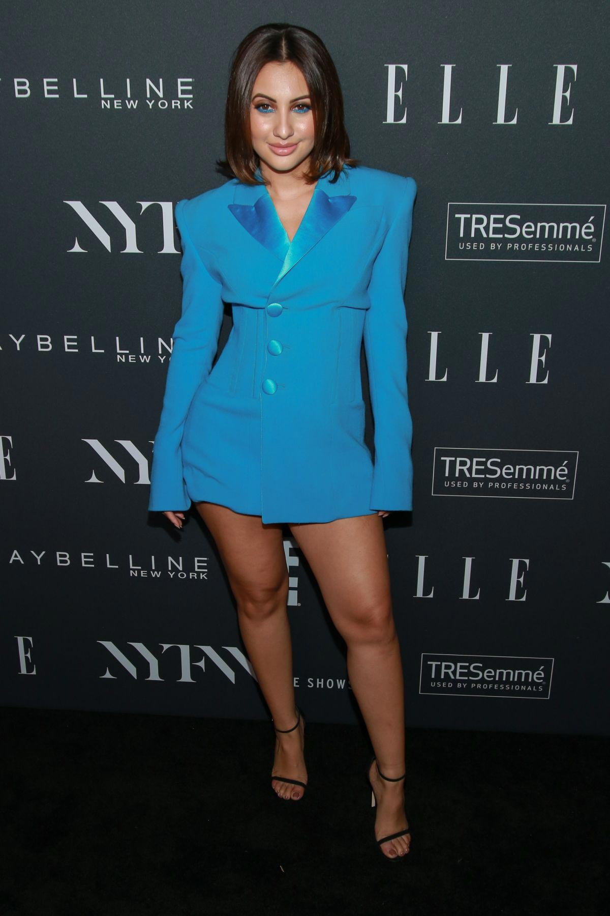 Francia Raisa at E!, Elle and IMG Party in New York 2018/09/05 1