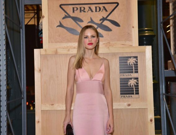 Halston Sage at Prada Linea Rossa Event in New York 2018/09/08 1
