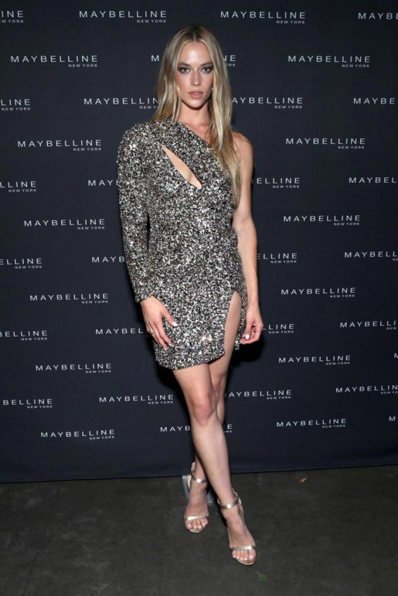 Hannah Ferguson at Maybelline x New York Fashion Week Party 2018/09/08 1