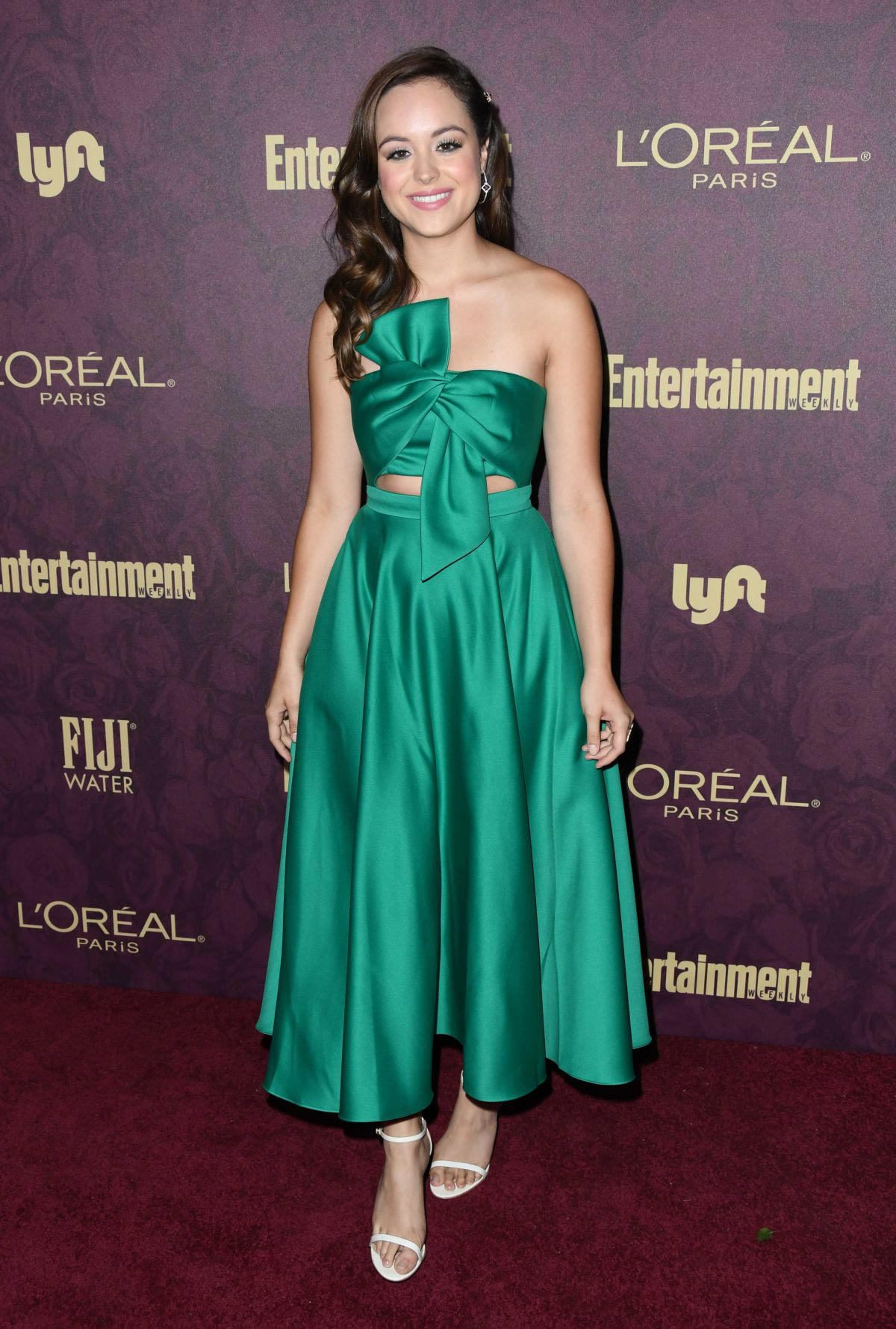 Hayley Orrantia at EW and L'Oreal Paris Pre-emmy Party in Hollywood 2018/09/15 1