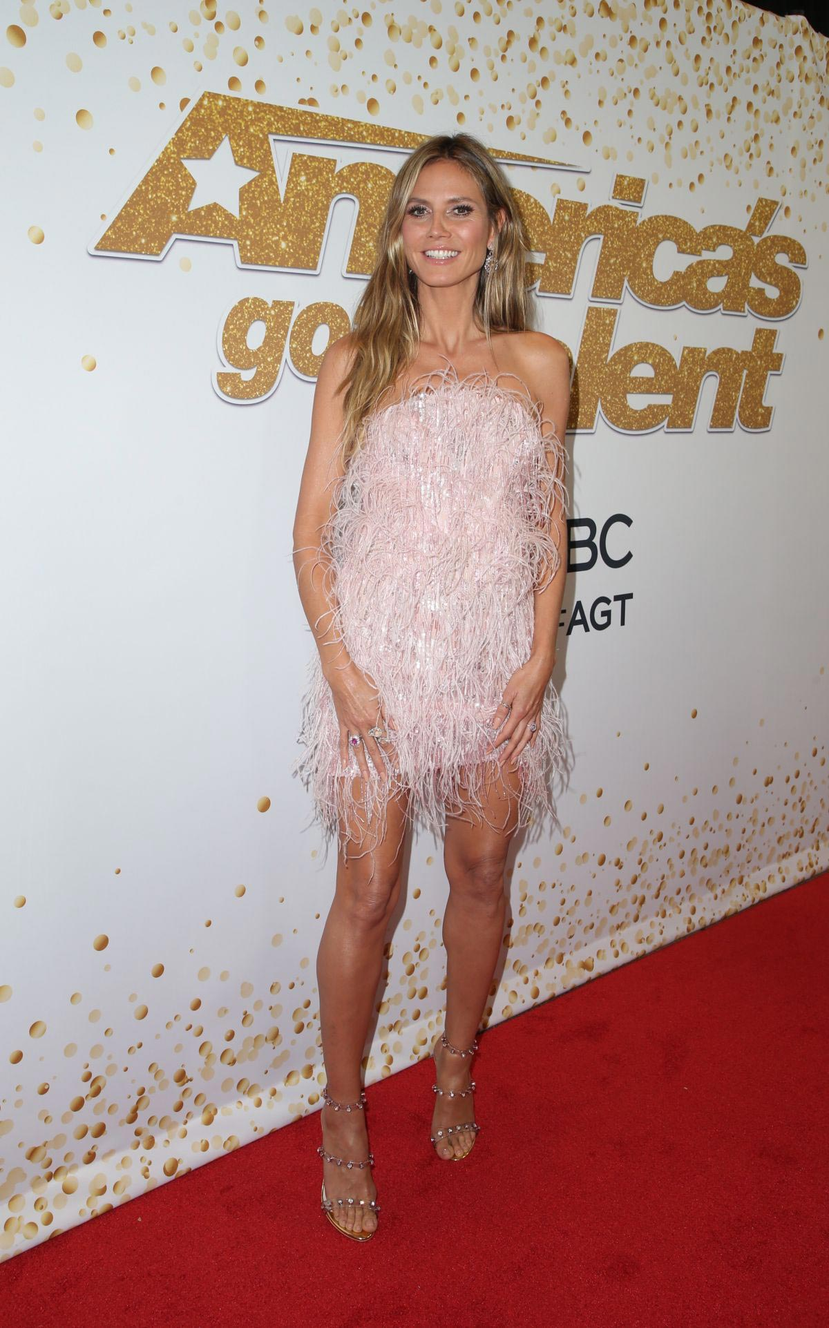 Heidi Klum at America's Got Talent, Season 13 Live Show in Hollywood 2018/09/18 1