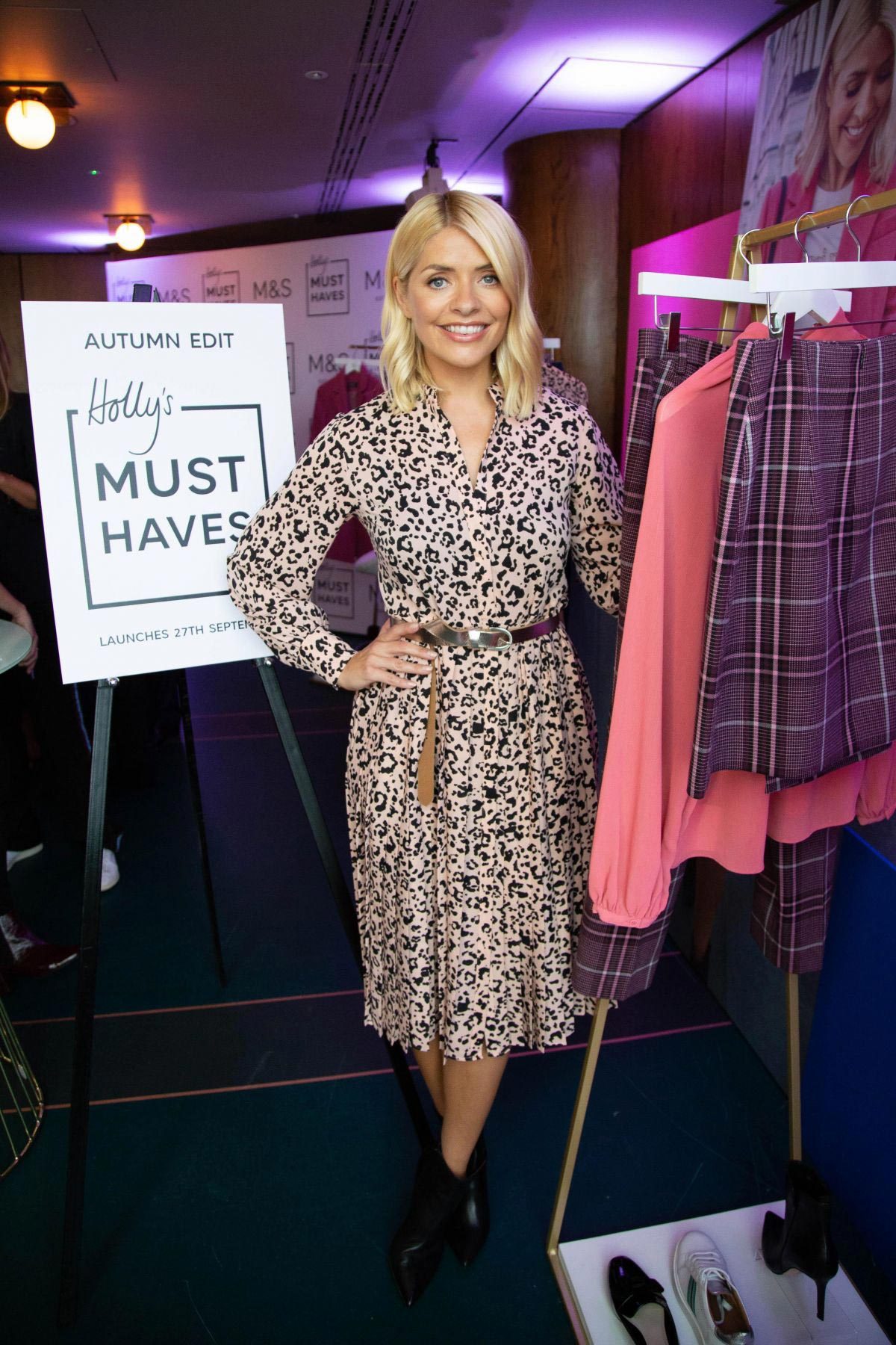 Holly Willoughby for Marks & Spencer Autumn Winter 2018 Collection 1