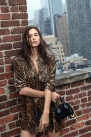 Irina Shayk and Stella Maxwell for The Kooples Autumn/Winter 2018 Campaign Photos 4
