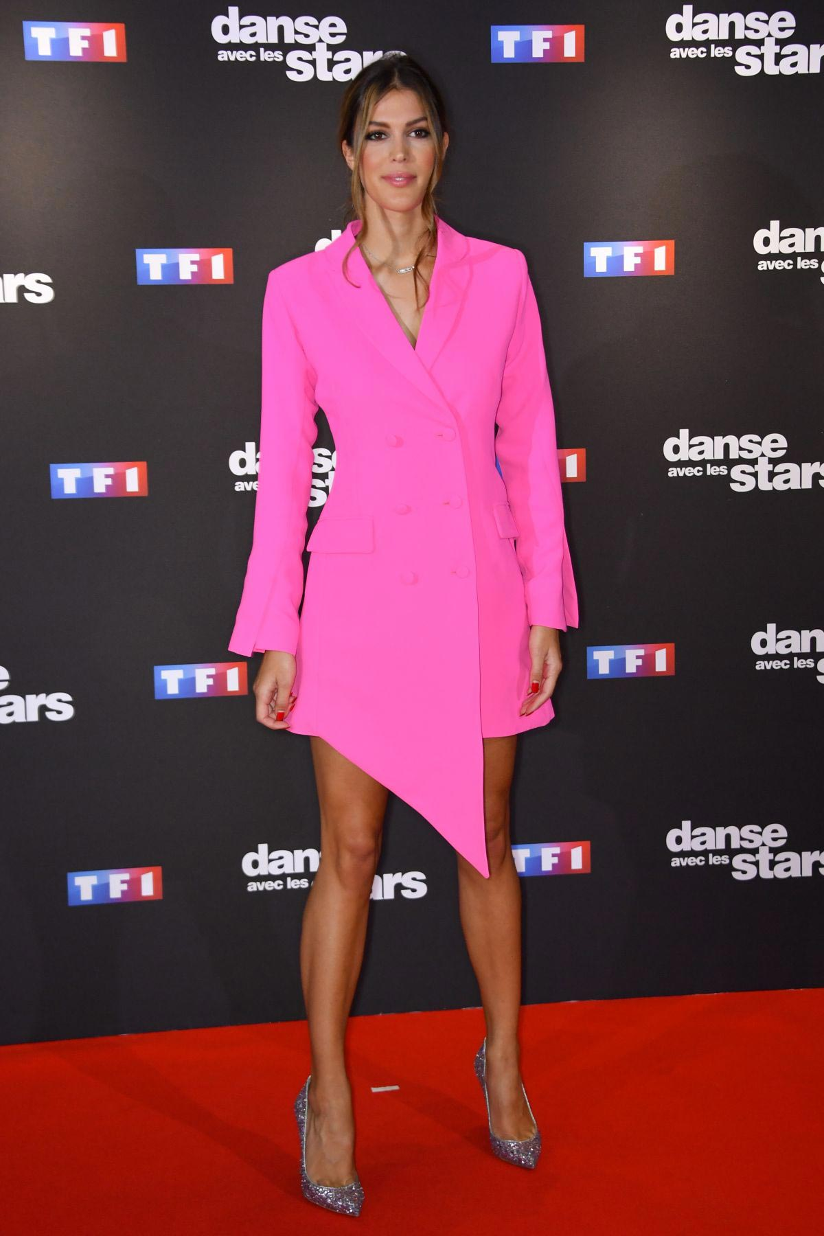 Iris Mittenaere at Danse Avec Les Stars Photocall in Paris 2018/09/11 1