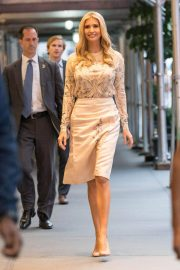 Ivanka Trump Arrives at Her Home in New York 2018/09/24 2