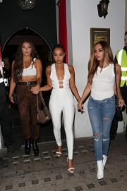 Jade Thirlwall, Leigh-Anne Pinnock and Jesy Nelson at Bunga Bunga in Covent Garden 2018/09/14 4