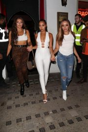 Jade Thirlwall, Leigh-Anne Pinnock and Jesy Nelson at Bunga Bunga in Covent Garden 2018/09/14 10