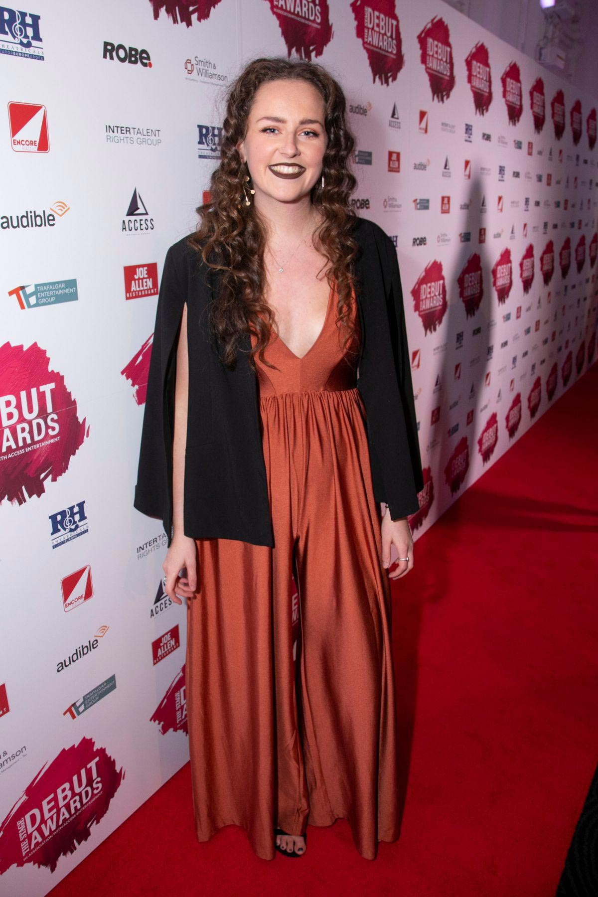 Jasmine Swan at Stage Debut Awards 2018 Arrivals in London 2018/09/23 1