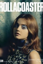 Jenna Coleman on the Cover of Roller Coaster, Autumn/Winter 2018 1