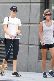 Jennifer Lawrence Out with Her Dog in New York 2018/08/29 2
