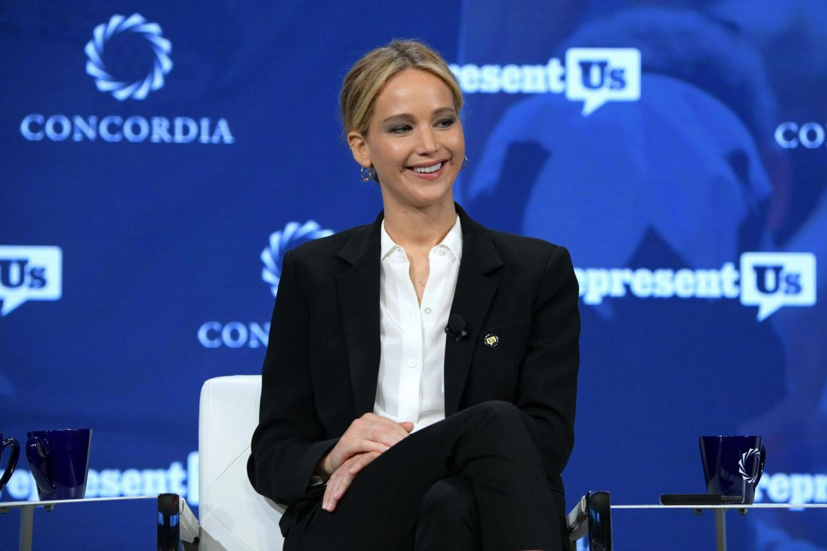 Jennifer Lawrence Speaks at 2018 Concordia Annual Summit in New York 2018/09/25 1