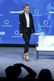 Jennifer Lawrence Speaks at 2018 Concordia Annual Summit in New York 2018/09/25 5
