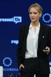 Jennifer Lawrence Speaks at 2018 Concordia Annual Summit in New York 2018/09/25 7