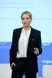 Jennifer Lawrence Speaks at 2018 Concordia Annual Summit in New York 2018/09/25 10