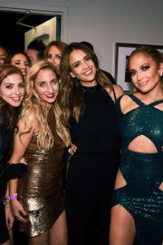 Jennifer Lopez and Friends on the Backstage of Her Show in Las Vegas 2018/09/22 2