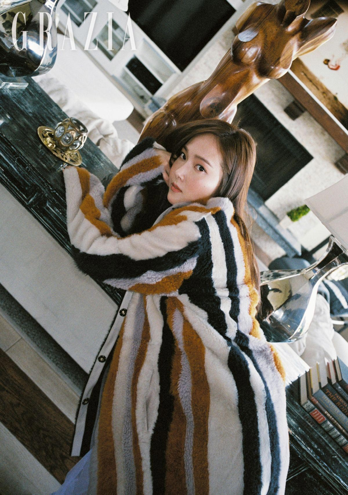 Jessica Jung in Grazia Magazine, Korea October 2018 1