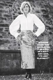 Jodie Whittaker in Marie Claire Magazine, UK October 2018 Issue 2