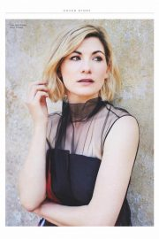 Jodie Whittaker in Marie Claire Magazine, UK October 2018 Issue 3