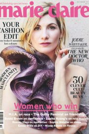 Jodie Whittaker in Marie Claire Magazine, UK October 2018 Issue 7
