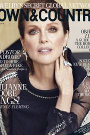 Julianne Moore in Town & Country Magazine, October 2018 9