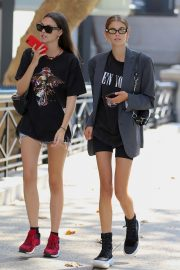 Kaia Gerber and Vittoria Ceretti Out in New York 2018/09/03 9