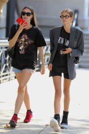 Kaia Gerber and Vittoria Ceretti Out in New York 2018/09/03 10