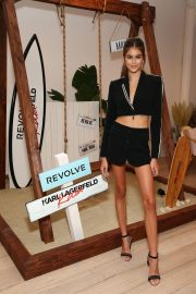 Kaia Gerber at Karl Lagerfeld x Revolve Launch in Los Angeles 2018/08/30 4