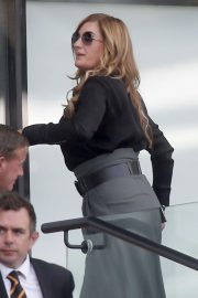 Karren Brady and Sophia Peschisolido at West Ham United vs Wolves Match in London 2018/09/01 5