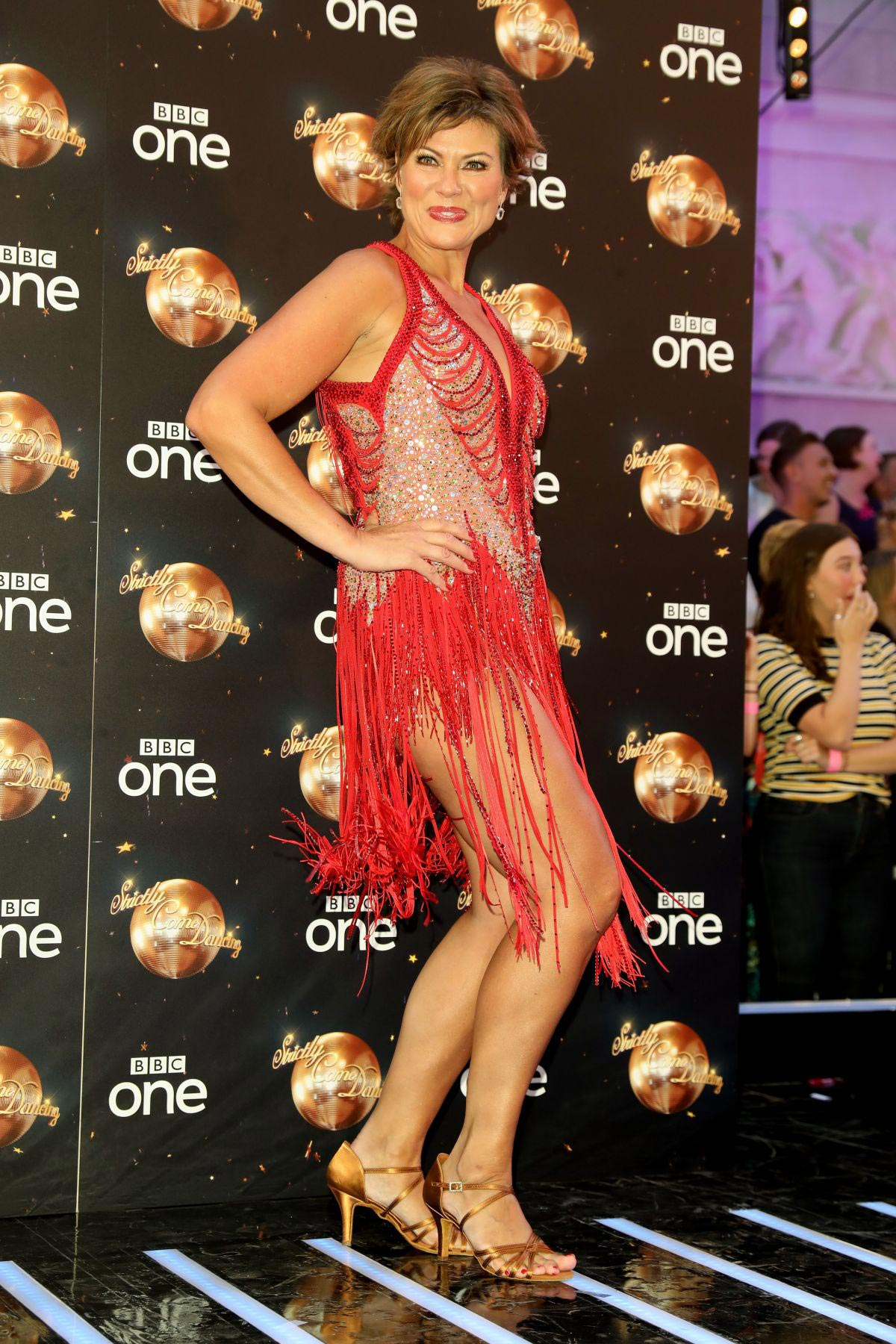 Kate Silverton at Strictly Come Dancing Launch in London ...