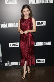 Katelyn Nacon at The Walking Dead Premiere Party in Los Angeles 2018/09/27 5