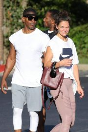 Katie Holmes and Jamie Foxx Leaves a Gym in Atlanta 2018/09/18 7