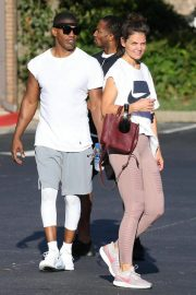 Katie Holmes and Jamie Foxx Leaves a Gym in Atlanta 2018/09/18 9