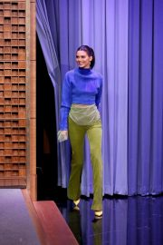 Kendall Jenner at Tonight Show Starring Jimmy Fallon in New York 2018/09/07 5