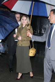 Kristen Bell Arrives at Late Show with Stephen Colbert in New York 2018/09/25 1