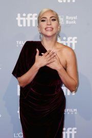 Lady Gaga at A Star is Born Press Conference at TIFF in Toronto 2018/09/09 2